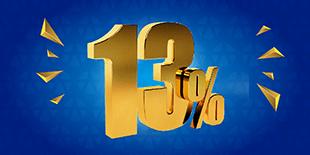 Ký quỹ phái sinh chỉ 13%